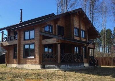 Построен дом 183 кв. м